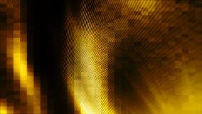 Fundo do sumário da cor do ouro da onda Foto de Stock