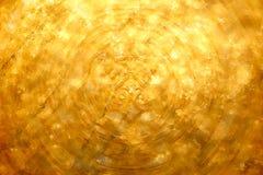 Fundo do sumário da textura do ouro Fotografia de Stock Royalty Free