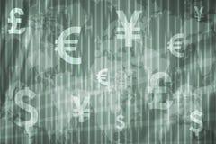 Fundo do sumário da troca conservada em estoque do negócio Imagens de Stock
