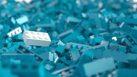 Fundo do sumário de Lego Fotos de Stock