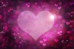 Fundo do sumário do dia de Valentim Fotografia de Stock