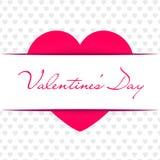 Fundo do sumário do dia do ` s do Valentim Ilustração do vetor Fotografia de Stock