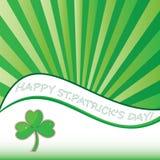 Fundo do sumário do dia do St. Patricks. Fotos de Stock