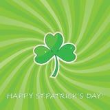 Fundo do sumário do dia do St. Patricks. Fotografia de Stock