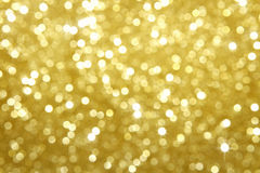 Fundo do sumário do glitter do ouro Foto de Stock Royalty Free