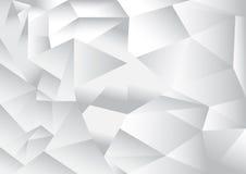 Fundo do sumário do teste padrão do polígono Imagem de Stock