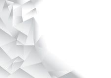 Fundo do sumário do teste padrão do polígono Fotografia de Stock