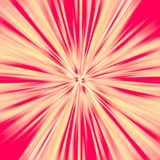 Fundo do sumário do sunburst do vermelho e do yelow ilustração stock