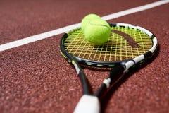 Fundo do tênis fotos de stock