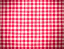 Fundo do Tablecloth Fotografia de Stock Royalty Free