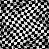 Fundo do tabuleiro de xadrez de Grunge Fotografia de Stock Royalty Free