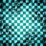 Fundo do tabuleiro de xadrez de Grunge Fotografia de Stock