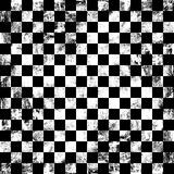 Fundo do tabuleiro de xadrez de Grunge Imagem de Stock