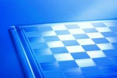 Fundo do tabuleiro de xadrez ou do tabuleiro de damas Foto de Stock