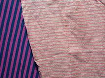 Fundo do tecido de algodão de multi cores da tela Fotografia de Stock