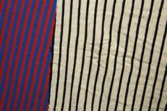 Fundo do tecido de algodão de multi cores da tela Imagem de Stock Royalty Free