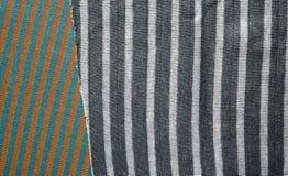 Fundo do tecido de algodão de multi cores da tela Fotografia de Stock Royalty Free