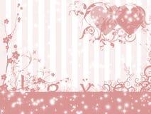 Fundo do tema do amor ilustração do vetor