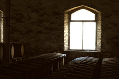 Fundo do tema do vinho Imagem de Stock Royalty Free
