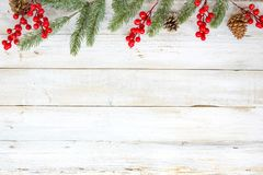 Fundo do tema do Natal com decoração fotos de stock royalty free