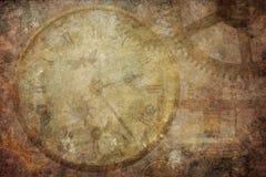 Fundo do tempo da textura do vintage de Steampunk Fotos de Stock