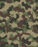Fundo do teste padrão da camuflagem sem emenda ilustração stock