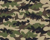 Fundo do teste padrão da camuflagem sem emenda ilustração do vetor