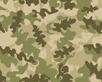 Fundo do teste padrão da camuflagem sem emenda ilustração royalty free