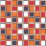 Fundo do teste padrão da cor do vetor 3d Imagens de Stock