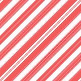 Fundo do teste padrão da listra de Diogonal Cores vermelhas e brancas Fotografia de Stock Royalty Free