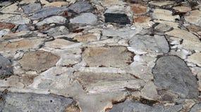 Fundo do teste padrão da rocha Fotografia de Stock