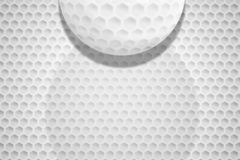 Fundo do teste padrão da textura da bola de golfe fotografia de stock