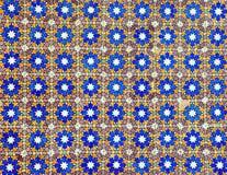 Fundo do teste padrão de Azulejo Fotos de Stock Royalty Free