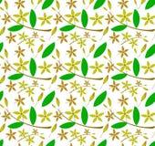 Fundo do teste padrão de flor imagem de stock
