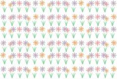 Fundo do teste padrão de flor imagens de stock