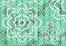 Fundo do teste padrão de flor Fotografia de Stock Royalty Free