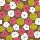 Fundo do teste padrão de flor Imagens de Stock Royalty Free