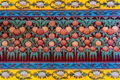 Fundo do teste padrão de flor colorido Imagens de Stock