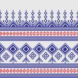 Fundo do teste padrão de Tailândia Imagens de Stock Royalty Free