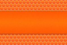 Fundo do teste padrão do favo de mel Fotografia de Stock