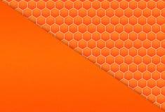 Fundo do teste padrão do favo de mel Fotos de Stock