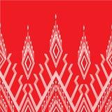Fundo do teste padrão dos sarongues em Tailândia Imagem de Stock