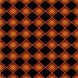 Fundo do teste padrão dos sarongues em Tailândia Imagem de Stock Royalty Free