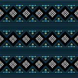 Fundo do teste padrão dos sarongues em Tailândia Foto de Stock Royalty Free