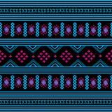 Fundo do teste padrão dos sarongues em Tailândia Imagens de Stock