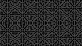 Fundo do teste padrão no fundo do preto, do papel de parede e do teste padrão ilustração do vetor