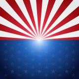 Fundo do teste padrão da bandeira dos EUA Fotografia de Stock