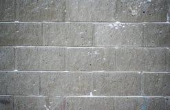 Fundo do tijolo cinzento na geada Imagens de Stock Royalty Free
