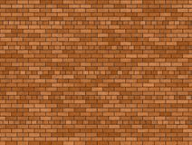 Fundo do tijolo de Brown imagem de stock
