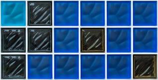 Fundo do tijolo de vidro, papel de parede, textura Fotos de Stock Royalty Free
